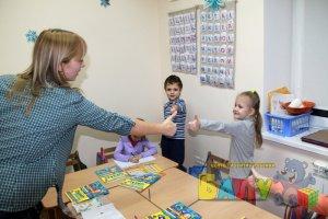 Занятия в детском садике